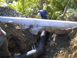Curbing and Drainage: Salem